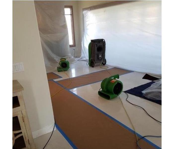 Does SERVPRO remove mold? After