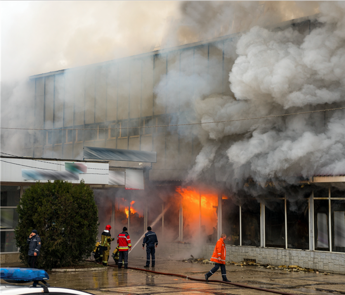 Fire Damage Tips for Managing a Business Interruption
