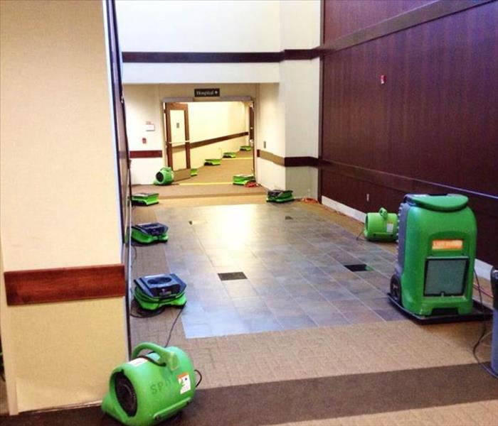 water damage commercial property Kansas City